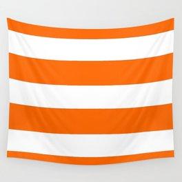 Mariniere marinière Orange Wall Tapestry