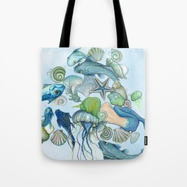 Atlantis Underwater World Tote Bag