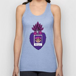 Frida Heart Unisex Tank Top