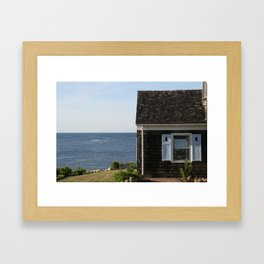 Rockport House Framed Art Print