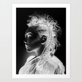 Warrior Within Art Print