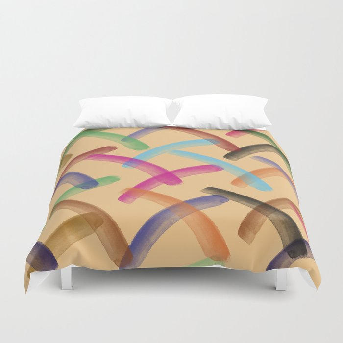 Colourful patterns Duvet Cover