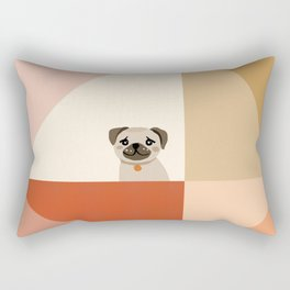 Little_PUG_LOVE_Minimalism_001 Rectangular Pillow