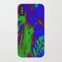 werewolf iPhone & iPod Cases featuring Werewolf  by Nikki Hung
