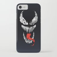venom iPhone & iPod Cases featuring Venom by WaXaVeJu