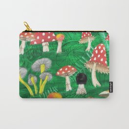 Mushroom Party Carry-All Pouch