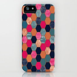 Colorful Honeycomb iPhone Case