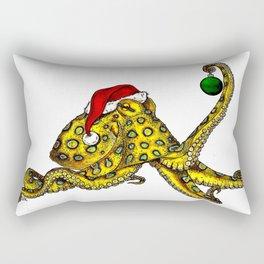 Merry Octopus-mas Rectangular Pillow