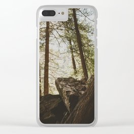 Fall Creek Falls Gorge Overlook Clear iPhone Case