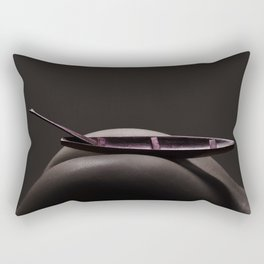 Boat on the Mointain Rectangular Pillow
