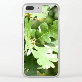 Scrub Oak Clear iPhone Case