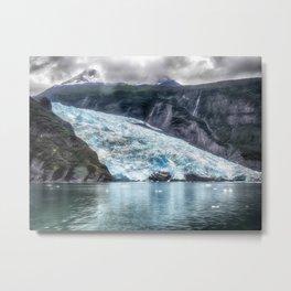 Portage Glacier - Alaska Metal Print