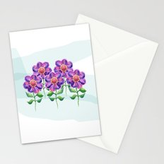 Violets Stationery Cards