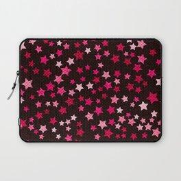 Hot pink starfall Laptop Sleeve