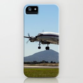 "Lockheed Super Constellation ""Connie"" iPhone Case"