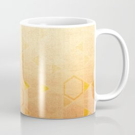 Rose Gold Abstract Coffee Mug