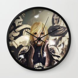 The Maid of Orleans Wall Clock