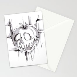 Poison Inktober Drawing Stationery Cards