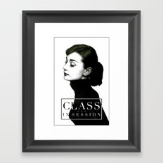 Class in Session Framed Art Print