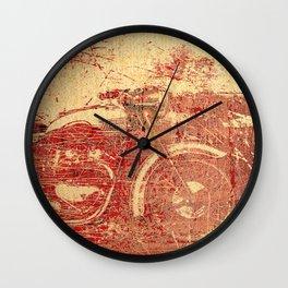 Triumph - Vintage Motorcycle Wall Clock