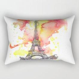 Eiffel Tower in Paris France Rectangular Pillow