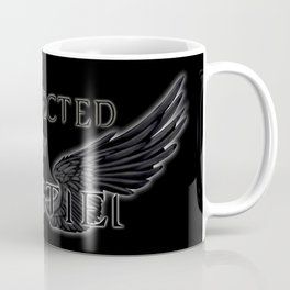 Protected by Castiel Black Wings Coffee Mug