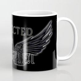 Protected by Castiel Black Wings Coffee Mug