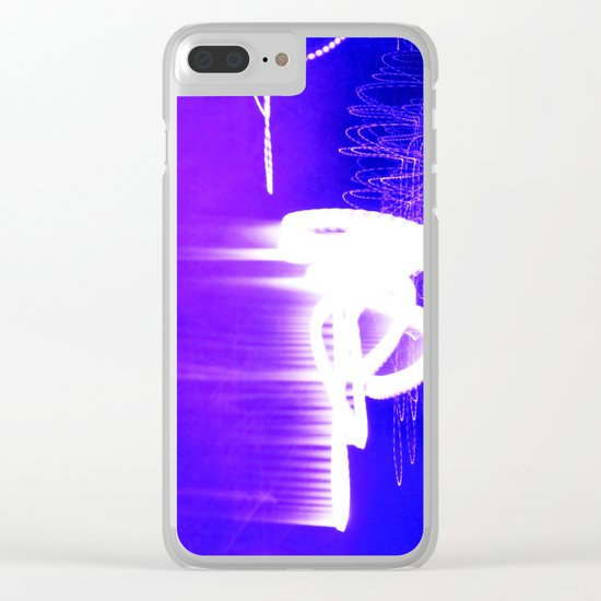 WAITING FOR THE STARS Clear iPhone Case