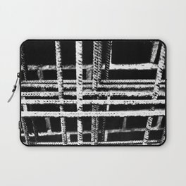 Rebar And Brick - Industrial Abstract Laptop Sleeve