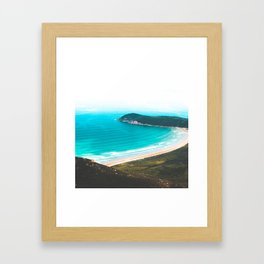 Southern point beach of Australia Framed Art Print