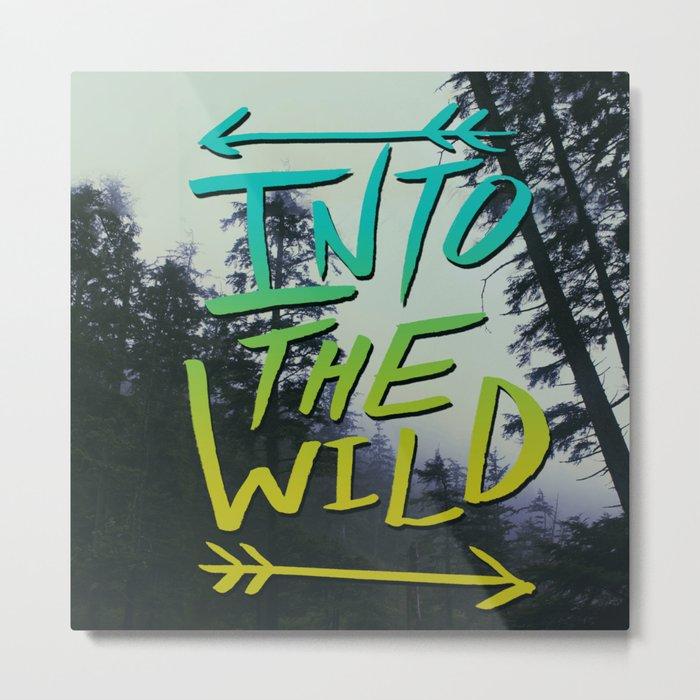 Into the Wild IV Metal Print