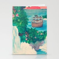 neverland Stationery Cards featuring Neverland by Jadie Miller