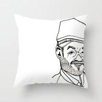moroccan Throw Pillows featuring Moroccan by nicolaporter