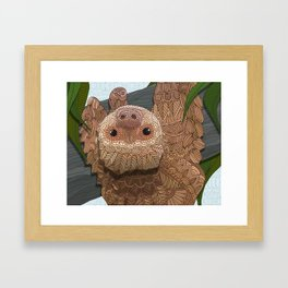 Hang in there buddy Framed Art Print