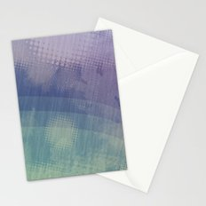 Halftone Borealis Stationery Cards