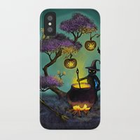 halloween iPhone & iPod Cases featuring Halloween by Anna Shell