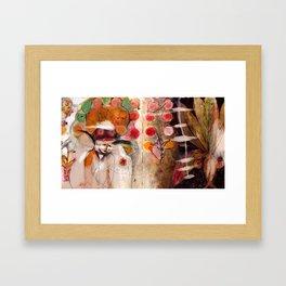 Push-pull Framed Art Print