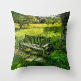 Summer Shade Throw Pillow
