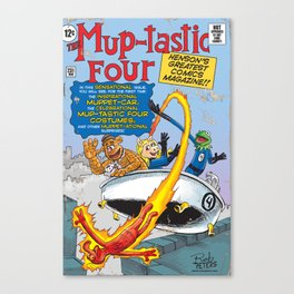 The Mup-Tastic Four Canvas Print