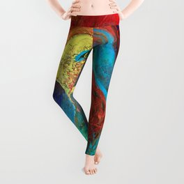 Brilliant Celebration Birdie Leggings