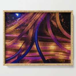 The Highway (Color) Serving Tray