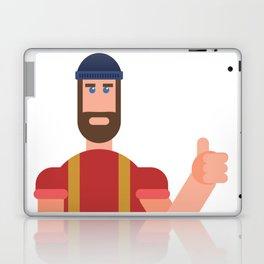 Encouraging Lumberjack Laptop & iPad Skin