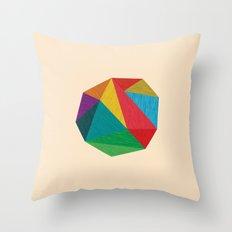 Poly Circle Throw Pillow