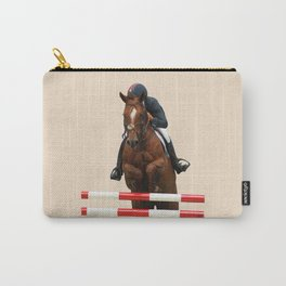 Show Jumping 1 Carry-All Pouch