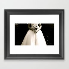 WHITEOUT : Wedding Day Framed Art Print