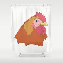 Chicken Shower Curtain