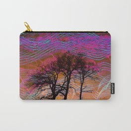 Disco Dancing Trees Carry-All Pouch