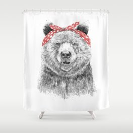 Break the rules (without text) Shower Curtain