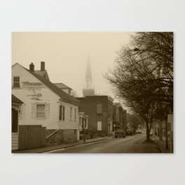 Ghost Church I Canvas Print