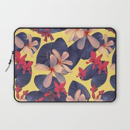 Mixed Tropical Floral Laptop Sleeve